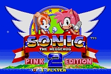 Sonic 2 Pink Edition - play the free rom online